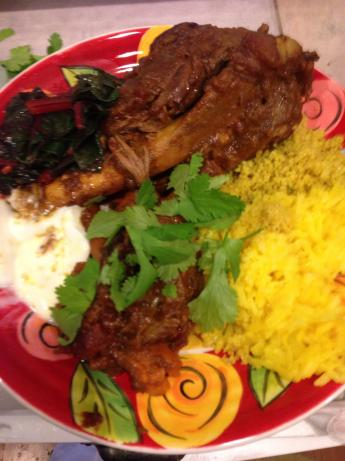Middle Eastern-Style Lamb Shanks. Photo by Favoo