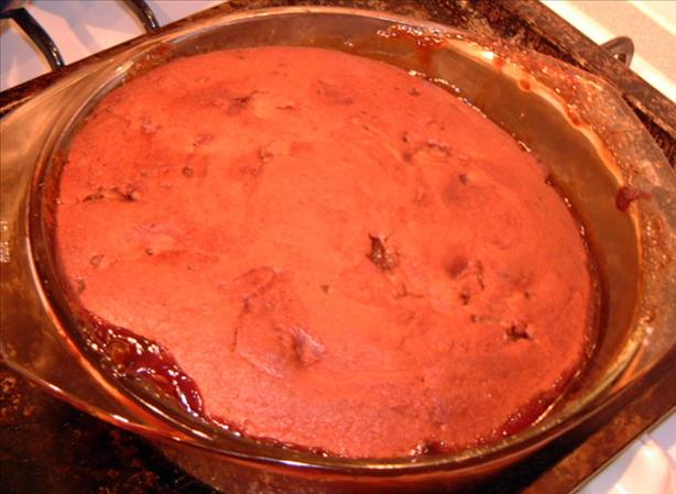 Pecan & Butterscotch Self Saucing Pudding. Photo by Tulip-Fairy