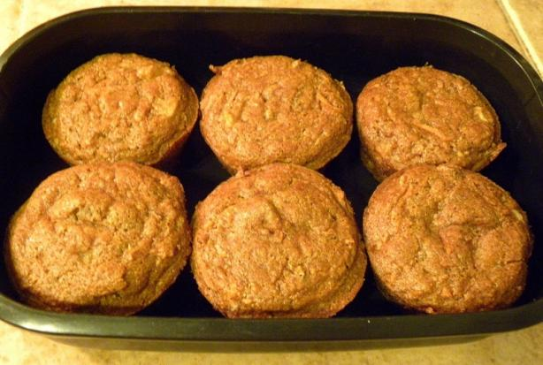 Low-Fat Carrot Cake Muffins (That Don't Taste Low-Fat!). Photo by haven't the slightest