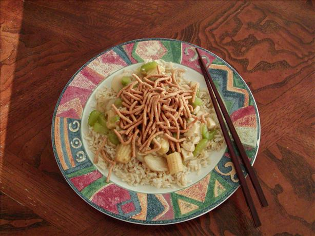 Easy Chicken Chow Mein. Photo by satlady77