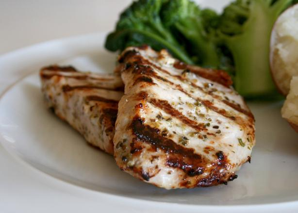 Grilled Greek Pork Chops. Photo by Cookin-jo