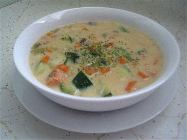 Izzy's Salmon Chowder. Photo by Evie*