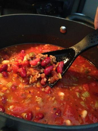 Olive Garden Pasta E Fagioli. Photo by JNordman