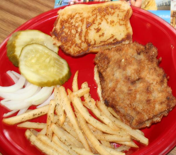 Fried Pork Tenderloin Sandwich (A Midwest Favorite). Photo by jrtfan