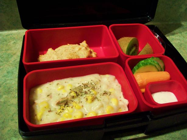 Lunch Box Chicken Chowder. Photo by * Pamela *