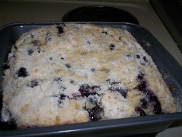 Blueberry Crumble Cake. Photo by DJ Sliver