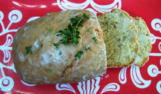Lemon Thyme Tea Bread. Photo by jaybeeme