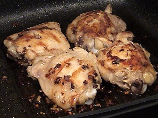 Shaker Style Grilled Chicken Thighs. Photo by Lori Mama