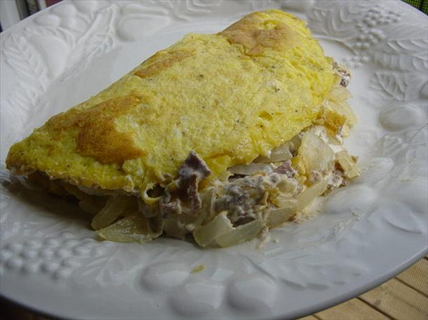 Philly Steak & Cheese Omelette. Photo by Trixyinaz