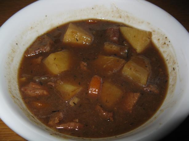Loz's Slow Cooked Irish Guinness Stew. Photo by AKA_Muddee