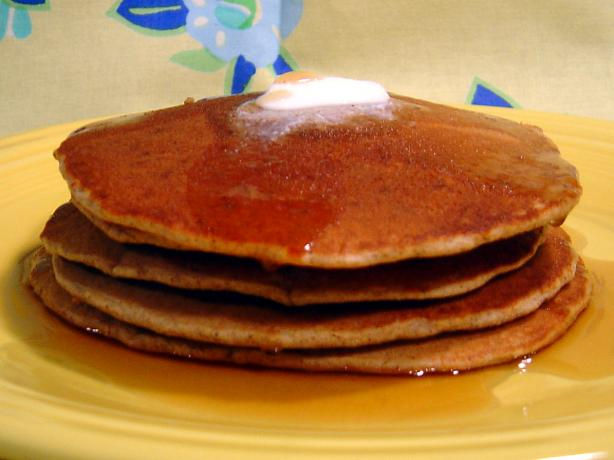 Lauren&#39;s Oat Bran Pancakes. Photo by :(