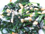 Spinach and Peanuts