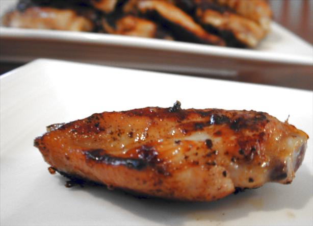 Hoisin Marinated Wing Pieces. Photo by Chef floWer
