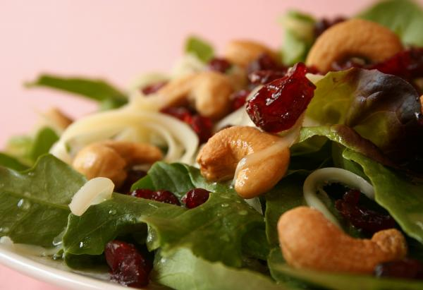 Cashew  Craisin Salad. Photo by GaylaJ