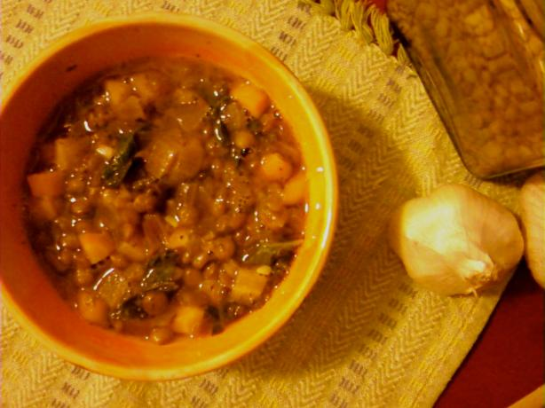 Moroccan Lentil and Kale Stew. Photo by suribu67