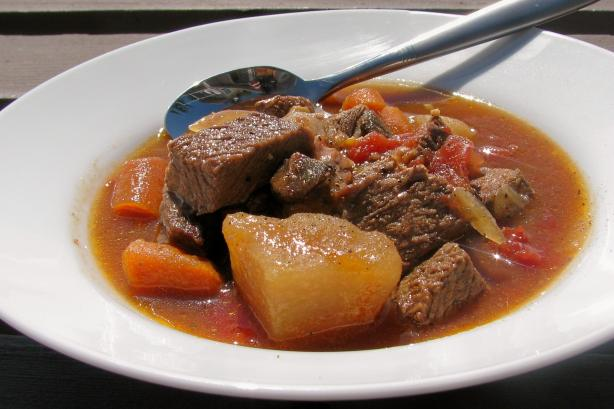 Leftover Roast Beef  Stew. Photo by lazyme