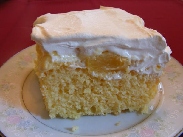 Pineapple Pudding Cake. Photo by Seasoned Cook