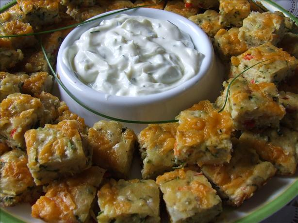 Vegetable  Appetizer Squares. Photo by CountryLady