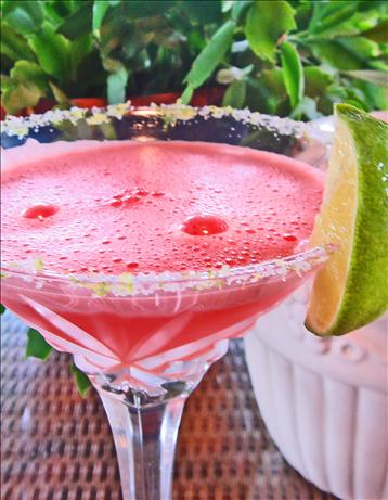 Frozen Watermelon Margaritas. Photo by Bev
