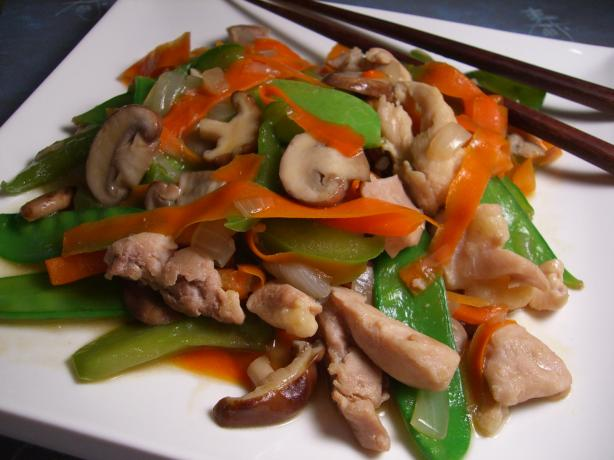 Chicken Stir Fry. Photo by Chef*Lee