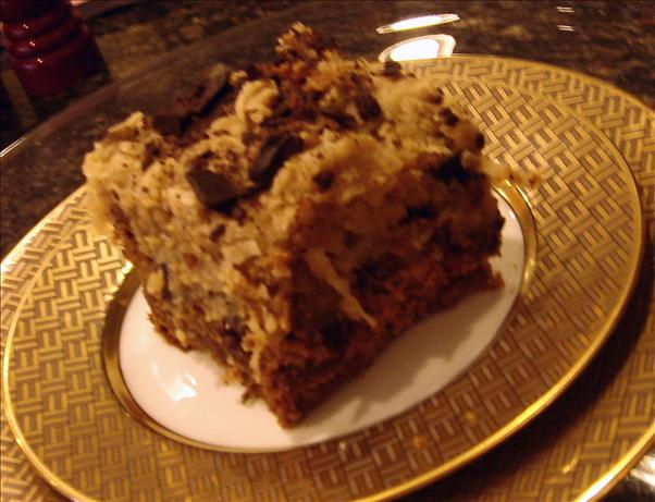 German Chocolate Cake Squares. Photo by Bev