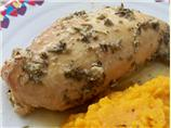 Crock Pot Garlic-Rosemary Chicken Breast
