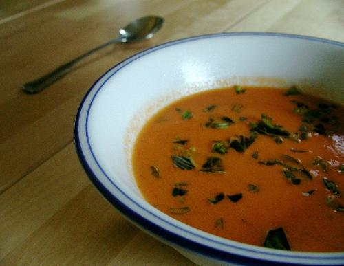 Cream of Garden Tomato Soup - Pressure Cooker - West. Photo by Mrs Goodall