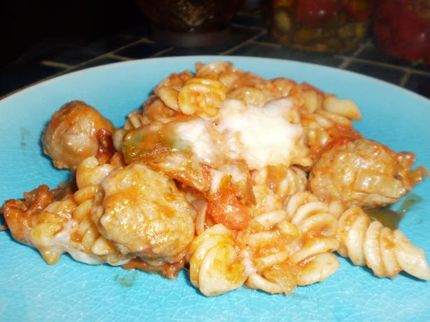 Quick and Easy Baked Ziti. Photo by breezermom