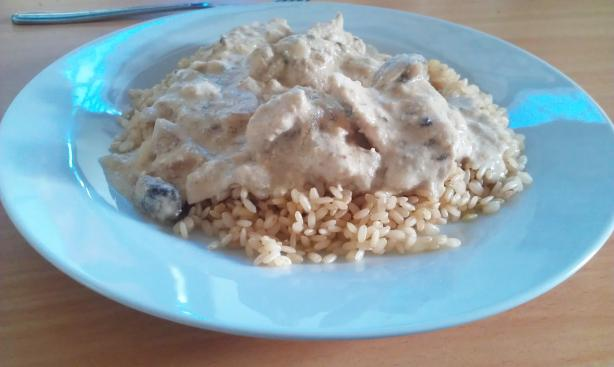 Chicken Stroganoff - Crock Pot. Photo by EEK! It's Courtenay!