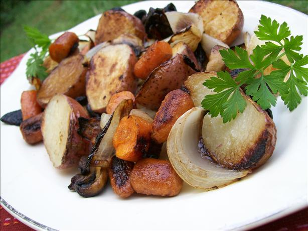 Oven-Roasted Autumn Vegetables. Photo by Sharon123