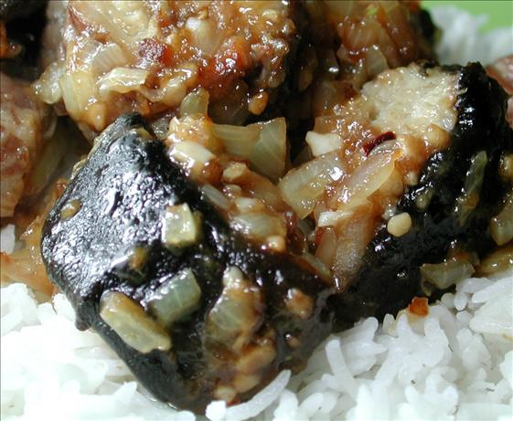 Stir-Fried Eel With Black Bean. Photo by Chef floWer