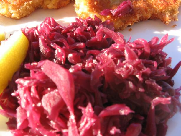 Red Cabbage Sweet & Sour. Photo by K9 Owned