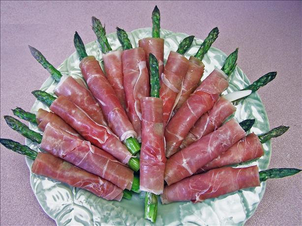 Asparagus Wrapped Wth Prosciutto. Photo by Rita~