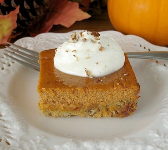 Pumpkin Pie Cake. Photo by Calee