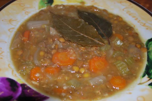 Pressure Cooker Lentil Soup. Photo by monimoni4ever