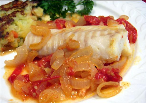 Pescado Sudado (Peruvian Steamed Fish Fillets). Photo by Derf