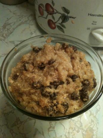 Crock Pot Rice Pudding. Photo by ctcuppycakegirl