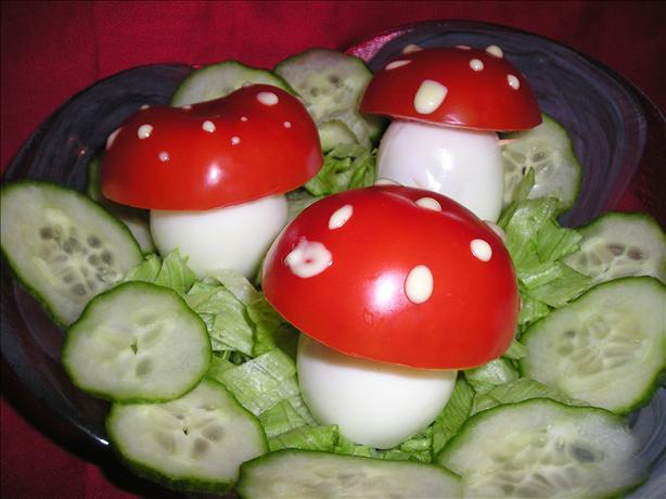 Toadstool Salad (For Kids!). Photo by sams1