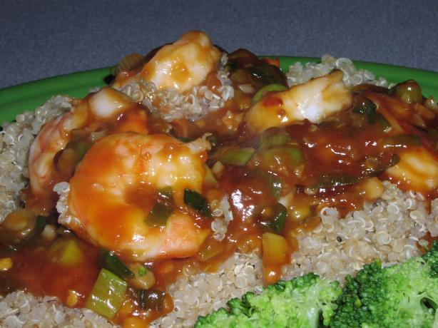 Szechuan Shrimp. Photo by TeresaS