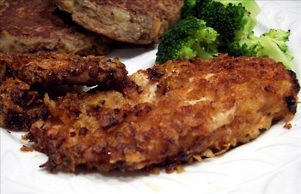 Oven-Fried Cornflake Chicken. Photo by Derf