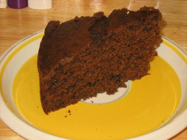Applesauce Molasses Cake - Low-Fat, Dairy-Free & Gluten-Free. Photo by What's Cooking?