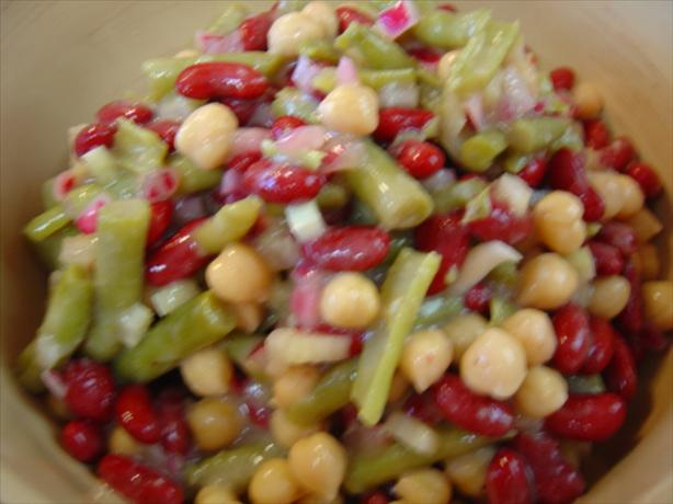 Sweet N Sour Bean Salad. Photo by :(
