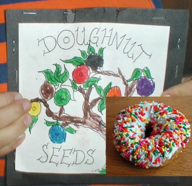 Grow Your Own Magic Doughnuts - Donuts. Photo by 4Susan