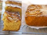 Traditional English Apple Traybake - Apple Pudding Cake