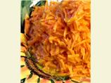 Orange-Glazed Shredded Carrots (Reduced or Low-Fat)