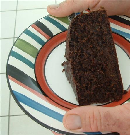 Elizabeth's Chocolate Zucchini Cake. Photo by Aunty Dotty