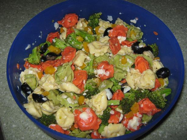 Firecracker Pasta Salad. Photo by auntlolo