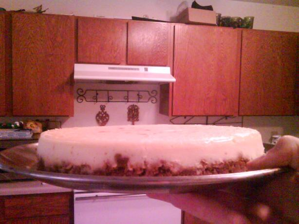 Alton Brown&#39;s Sour Cream Cheesecake. Photo by S3b4s