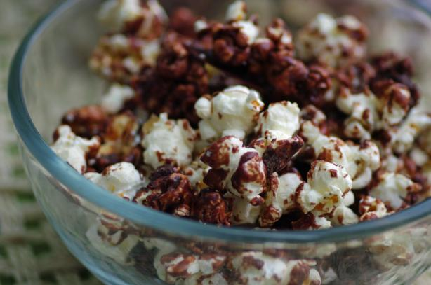 Milk Chocolate Popcorn. Photo by Redsie