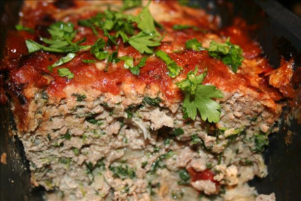 Turkey Meatloaf. Photo by DJoy